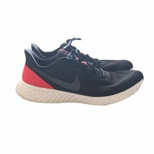 Nike Revolution running shoes black red size 13